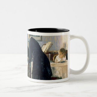 Unexpected, 1884-88 Two-Tone coffee mug