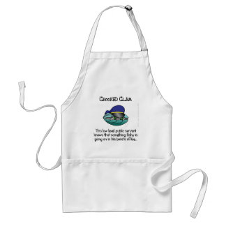 Unexpected crooks in government adult apron