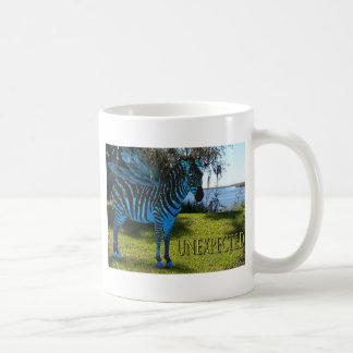 Unexpected Flying Zebra Mug