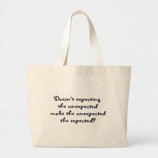 Unexpected? Jumbo Tote Bag