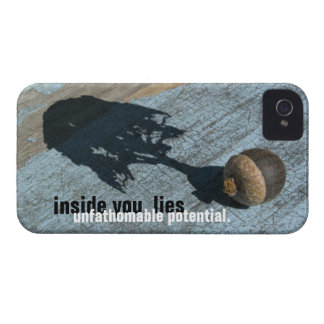 """""""unfathomable potential"""" iPhone4 Case-Mate ID CASE"""