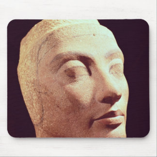 Unfinished head of Nefertiti, New Kingdom Mouse Pad
