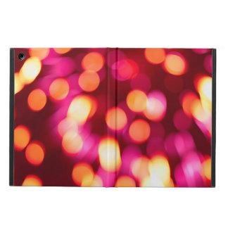 Unfocused lights iPad air cover