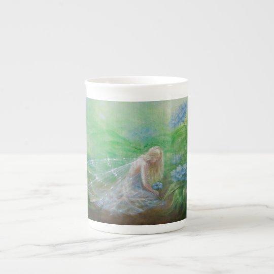 Unforgotten tea cup by Lynne Bellchamber