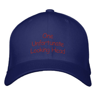 Unfortunate Looking Embroidered Hats