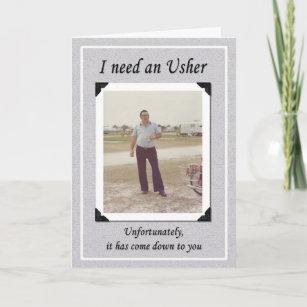 Funny usher gifts gift ideas zazzle uk unfortunate ushers invitation stopboris Images