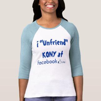 Unfriend Kony Shirt
