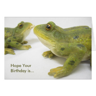 UnFROGettable Greeting Card