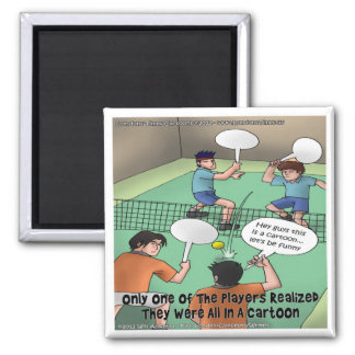 Unfunny Tennis Cartoon Funny Tees Cards Gifts Etc Fridge Magnets