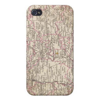 Ungarn, Hungary Atlas Map iPhone 4 Case