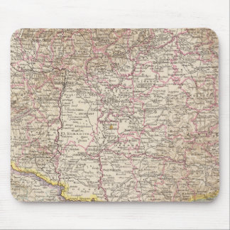 Ungarn, Hungary Atlas Map Mouse Mat
