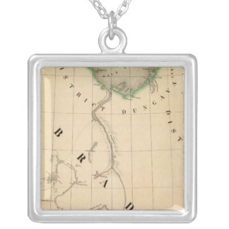 Ungava Peninsula and northern Labrador Silver Plated Necklace