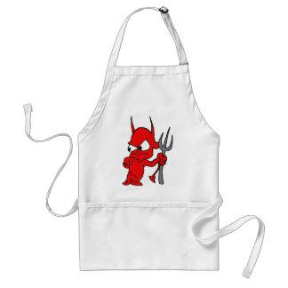 Unhappy Devil Adult Apron