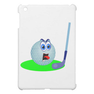 Unhappy Golf Ball and Gifts Cover For The iPad Mini