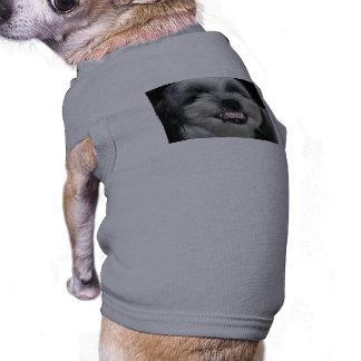 unhappy lhasa apso dog t-shirt