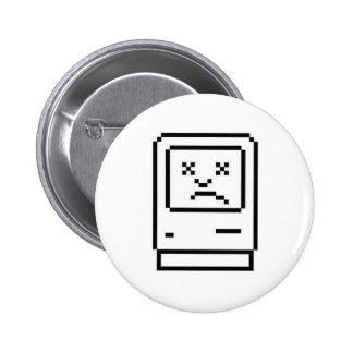 Unhappy Mac Badge