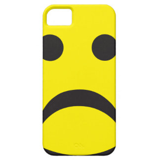 Unhappy Smiley Sadness Face Case For The iPhone 5