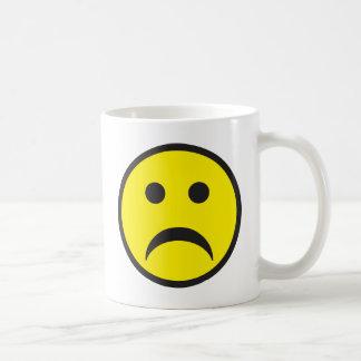 Unhappy Smiley Sadness Face Coffee Mug