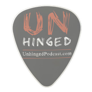 Unhinged Podcast Guitar Picks Polycarbonate Guitar Pick