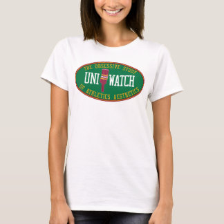 Uni Watch Babydoll (alternate) T-Shirt
