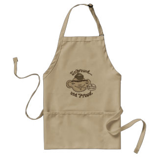 Unibrowed and Proud Aprons