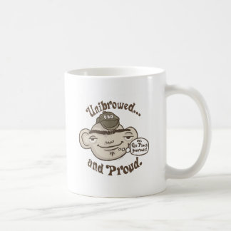 Unibrowed and Proud Coffee Mug