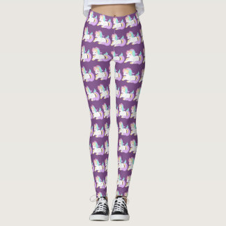 Unicon purple leggins leggings