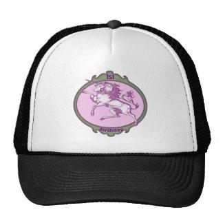 Unicorn 1st Birthday Cap