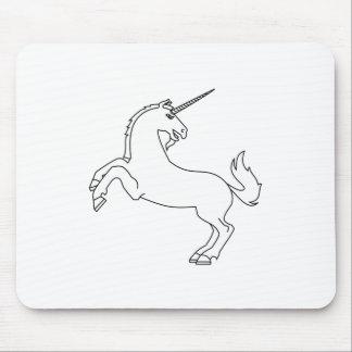 Unicorn #2 mouse pad
