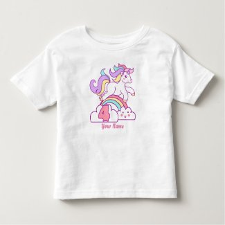 Unicorn 4th Birthday T-Shirt