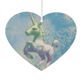 Unicorn Air Freshener Heart (Blue Arctic)