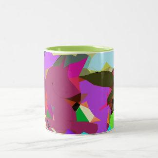 Unicorn, Alligator, and Bird Surreal Art Mug