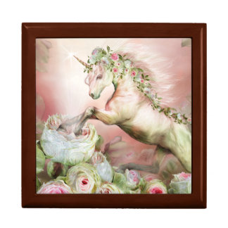 Unicorn And A Rose Art Gift Box