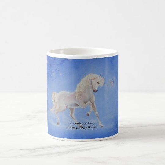 Unicorn and Fairy Coffee Mug