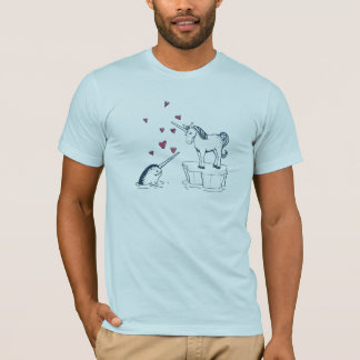 Unicorn and Narwhal, True Love Tee