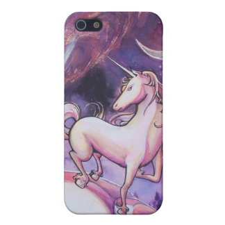 Unicorn and Night Sky iPhone 5/5S Cases