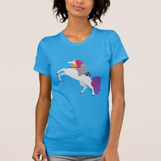 Unicorn and Raccoon Shirt