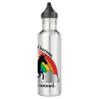 Unicorn and Rainbow Be A Unicorn 710 Ml Water Bottle
