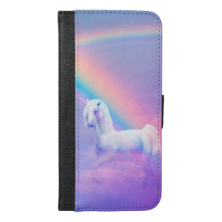 Unicorn and Rainbow iPhone 6/6s Plus Wallet Case