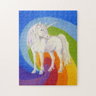 Unicorn and Rainbow puzzle