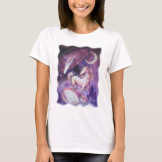 Unicorn and the Night Sky T-Shirt