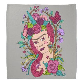 Unicorn art bandana