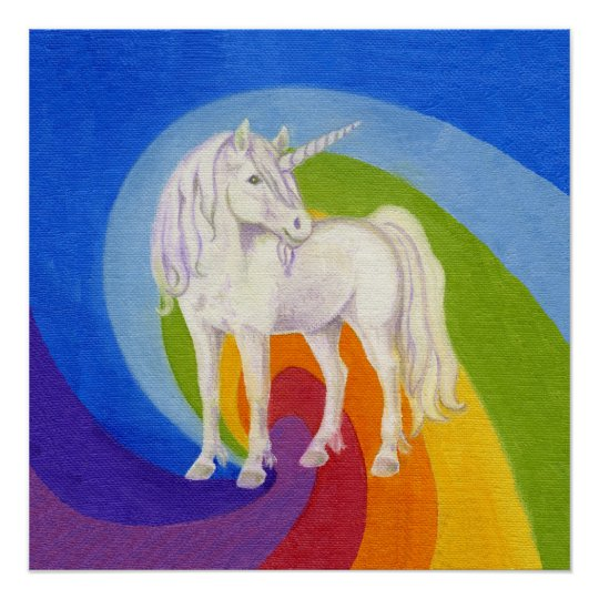 Unicorn art print