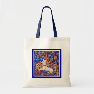 "Unicorn Art - ""The Unicorn in Captivity"" Tote Bag"