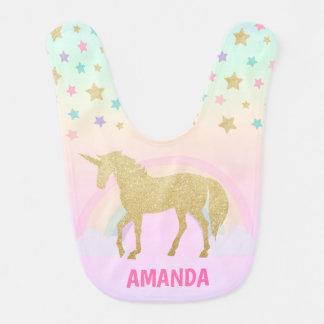 Unicorn Baby Bib, Unicorn Bib