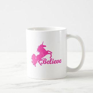 Unicorn, Believe Mugs