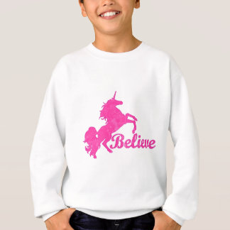 Unicorn, Believe Sweatshirt