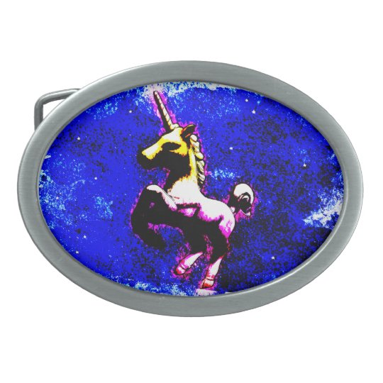 Unicorn Belt Buckle (Punk Cupcake)
