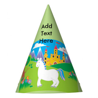 Unicorn Birthday Party Party Hat