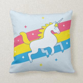 Unicorn Blue Cushion